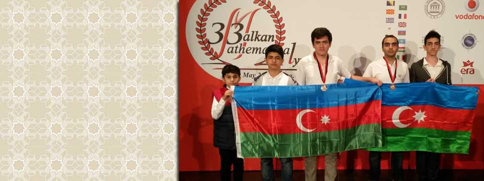 Məktəblilərimiz 33-cü Balkan Riyaziyyat Olimpiadasından medalla qayıdıblar