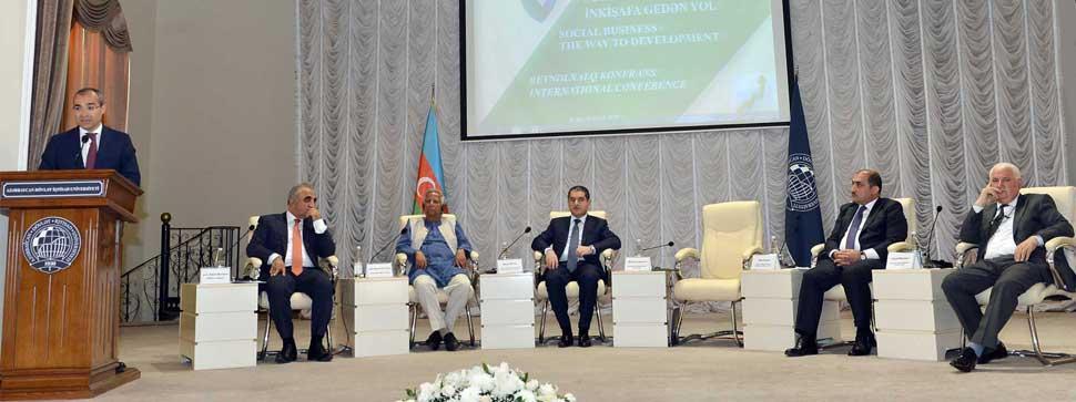Azərbaycan Dövlət İqtisad Universitetində Yunus Sosial Biznes Mərkəzi yarad ...